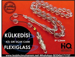 FLEXIGLASS TESBİH 9*12 mm KÜLKEDİSİ